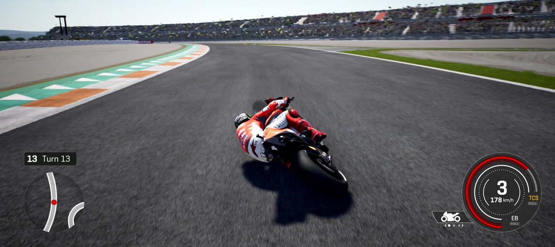 Demo Lap: Jorge Lorenzo at Circuit Ricardo Tormo on MotoGP™18