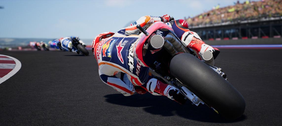 Demo Lap: Marquez rides COTA on MotoGP™18
