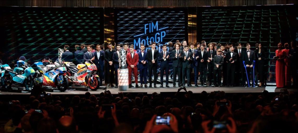 First MotoGP™ eSport Champion visits FIM MotoGP Awards Gala