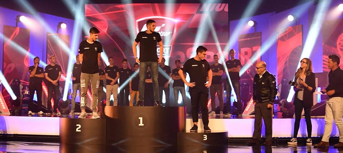 Crowning the Champion: The world's first MotoGP™ eSport title
