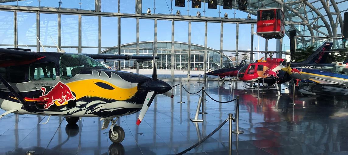 MotoGP™ eSport Top 3 visit Red Bull Hangar-7