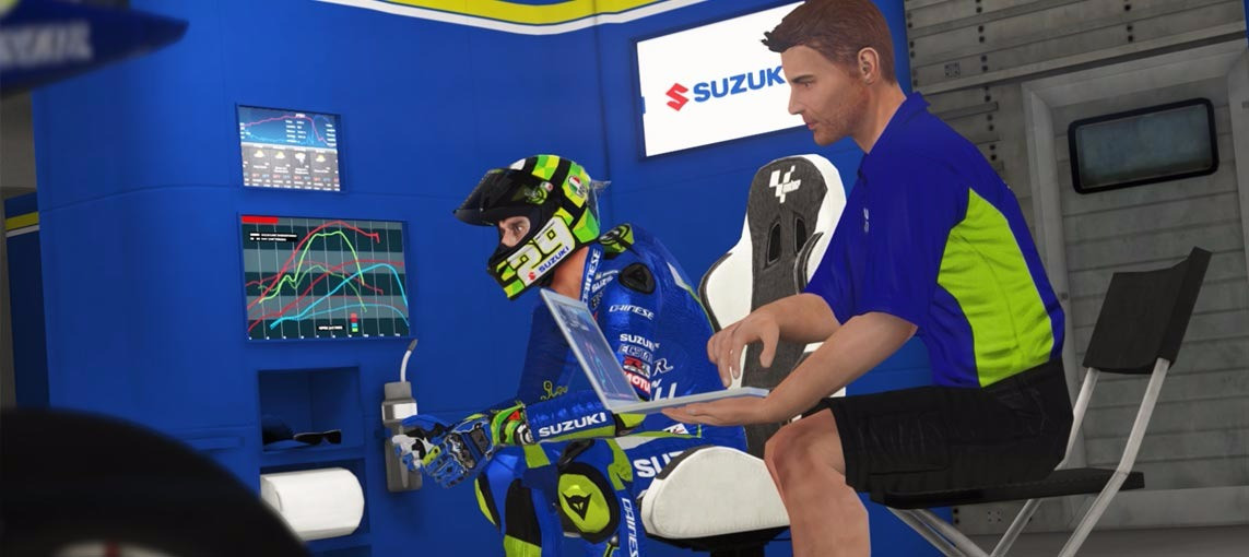 Team Suzuki & Iannone are ready to tackle the track Down Under