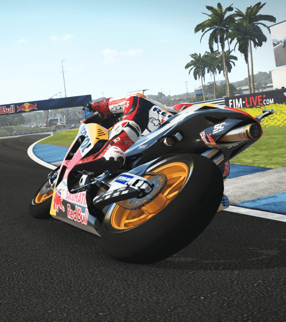Demo Lap: Marc Marquez at Circuito de Jerez on MotoGP™17